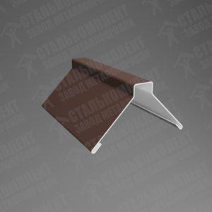 Конёк фигурный Шоколадно-коричневый 8017