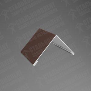 Конёк простой Шоколадно-коричневый 8017