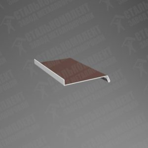 Отлив простой Шоколадно-коричневый 8017