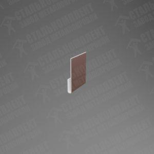 Стартовая планка для сайдинга СПС-080 Шоколадно-коричневый 8017