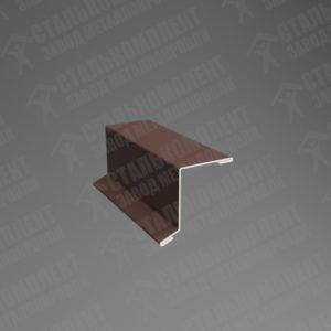 Планка ветровая ВП-250 Шоколадно-коричневый 8017