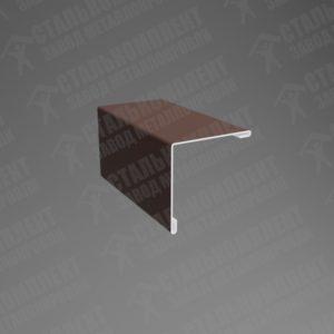 Угол наружный Шоколадно-коричневый 8017