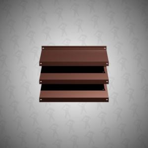 Забор-жалюзи Royal Шоколадно-коричневый 8017